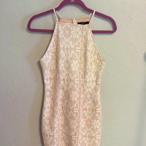 NWT Forever 21 Cream/Nude Lace Dress Small
